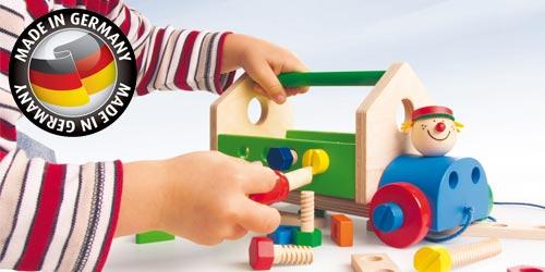jeux construction jouets fabriques en allemagne
