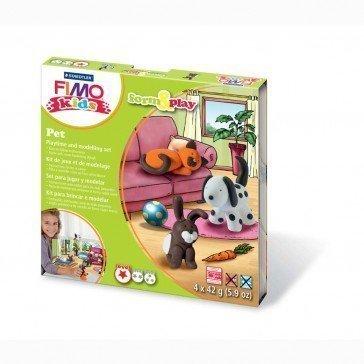 Pâte Fimo Kids Staedtler animaux de compagnie - Päte Fimo