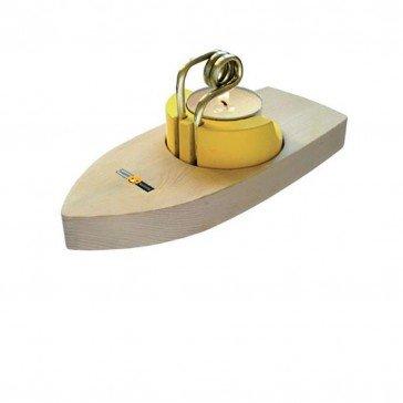 Bateau pop pop en bois | Fabricant Allemand