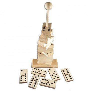 Dominos sur tige géants - Artisan du Jura