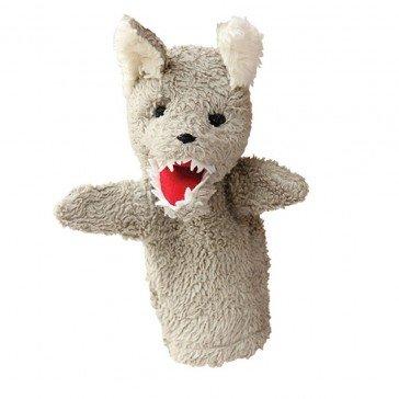 Doudou marionnette Loup - Fabricant Allemand