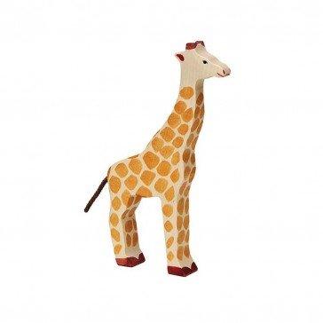 Girafe en bois - Holztiger