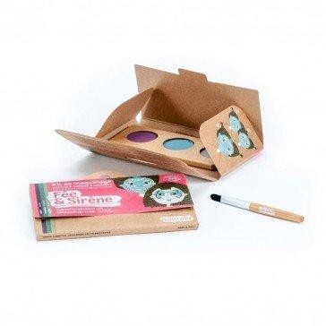 Kit de maquillage 3 couleurs Fée et Sirène - Namaki