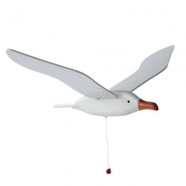Mobile Mouette blanche 55 cm - Fabricant Allemand