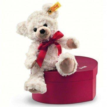 Ours Teddy Sweatheart dans sa boîte en cœur - Steiff