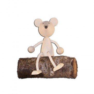 Pantin en bois Souris - Artisan du Jura