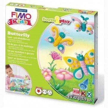 Pâte Fimo Kids Staedtler papillons - Pâte Fimo