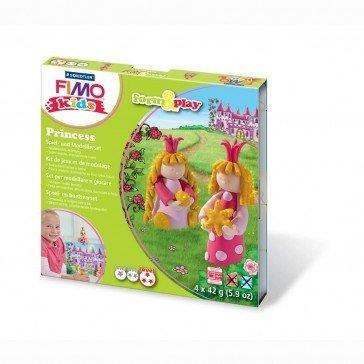 Pâte Fimo Kids Staedtler princesses - Pâte Fimo