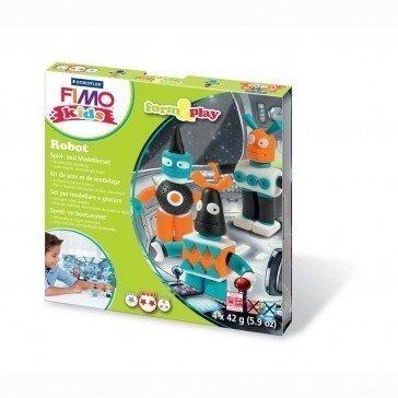 Pâte Fimo Kids Staedtler Robots - Pâte Fimo