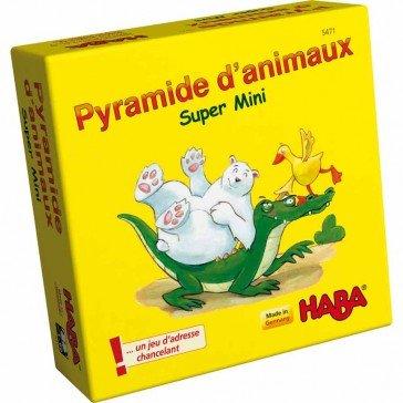 Super mini pyramide d'animaux - Haba