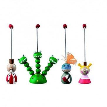 Théatre de marionnettes à tiges - Artisan Tcheque