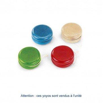 Yoyo en bois coloré - Artisan du Jura