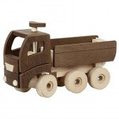 Grand Camion benne en bois