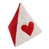 Triangle hochet en coton biologique