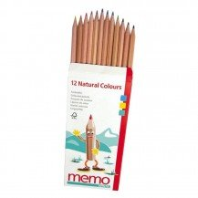 12 Crayons de couleur - Fabricant Allemand
