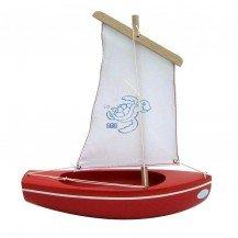 Thonier rouge - 24 cm - Bateaux Tirot