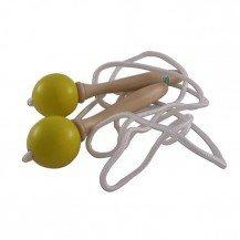 Corde à sauter jaune - Artisan du Jura