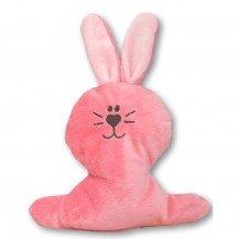 Doudou petit Lapin rose bonbon - Moncalin