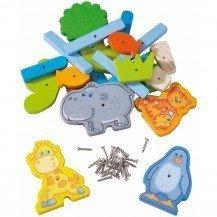 Complément d'accessoires pour jeu du marteau - Zoo - Haba