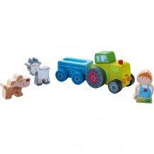 Le tracteur de Pierre et ses animaux - Haba