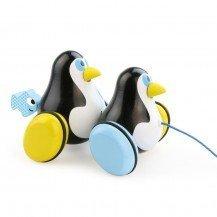 Hans et Knut les pingouins à traîner - Vilac
