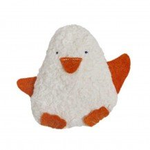 Hochet en coton biologique Pingouin - Fabricant allemand