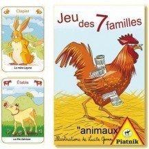 Jeu de 7 familles Animaux -Piatnik