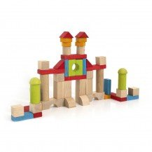 Blocs de construction 52 pcs - Jeujura