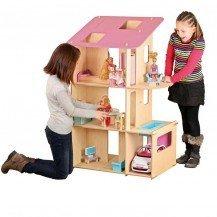 Maxi maison de poupée type Barbie - JB Bois (attention vendue sans les accessoires)