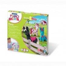 Pâte Fimo Kids Staedtler Poney - Pâte Fimo