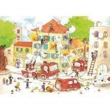 Les pompiers 50 pcs - Michèle Wilson