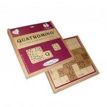 Quatromino jeu de dominos sur plateau - Les Jeux de Paul