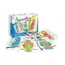 Aquarellum Junior - Hiboux - Sentosphère