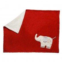 Tapis de jeu Eléphant en coton biologique 75 x 100 cm - Fabricant allemand