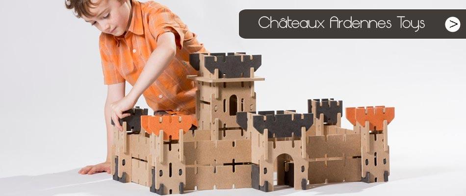 Découvrez les châteaux Ardennes Toys, jeu de construction qui vous surprendra