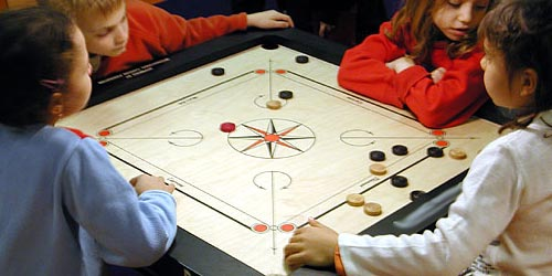 Carrom-Billards Indiens