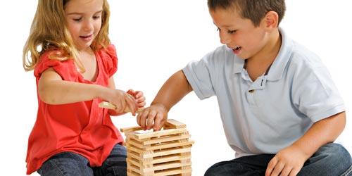 Jeux de construction Kapla et Jouécabois