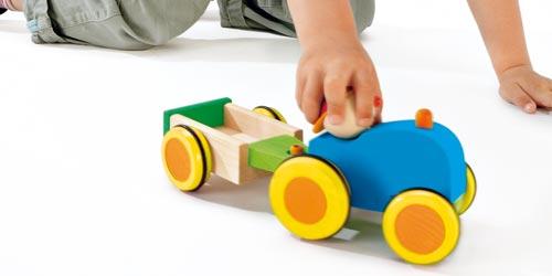Autres véhicules en bois