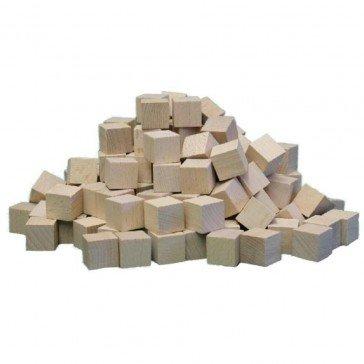 150 Blocs en bois naturels - Ebert