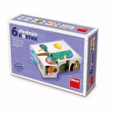 6 cubes Mon Premier Imagier - Artisan Tchèque
