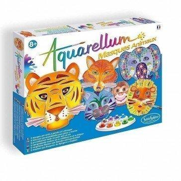 Aquarellum Masques Animaux - Sentosphère