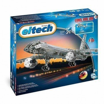 Jeu de construction métallique l'Avion - Eitech