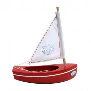 Bateau Petit Mousse rouge 17 cm - Bateaux Tirot