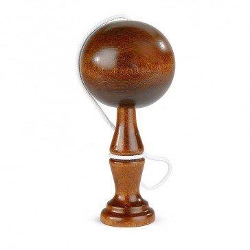 Bilboquet en bois teinté - Artisan du Jura