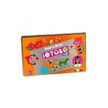 Boîte métallique Mosaïque magnétique Iotobo - 6 ans - Sepp Jeux