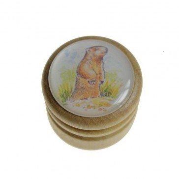 Boîte à dents de lait Marmotte - Artisan du Jura