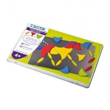 Boîte métallique Mosaïque magnétique Iotobo - 4 ans - Sepp Jeux