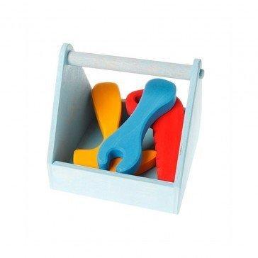 Petite boîte à outils colorée de Grimm's