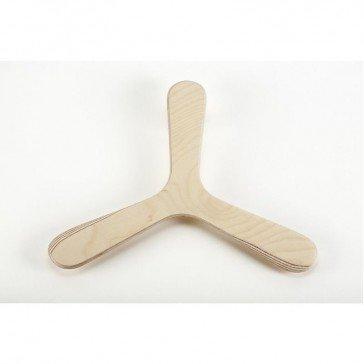 nature boomerang tripale à personnaliser ambidextre - wallaby boomerangs