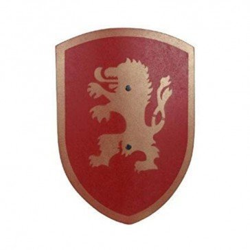 bouclier en bois lion - VAH